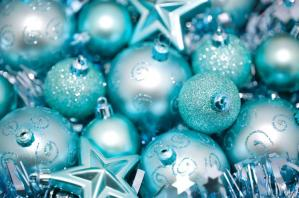 cyan_blue_bauble_background