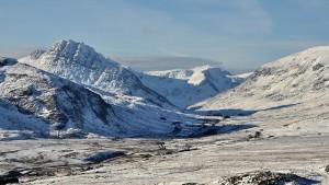 Ogwen pass snow